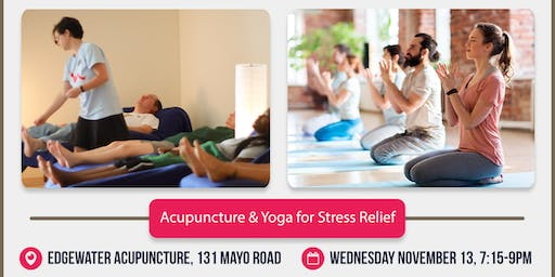 Acupuncture & Yoga for Stress Relief