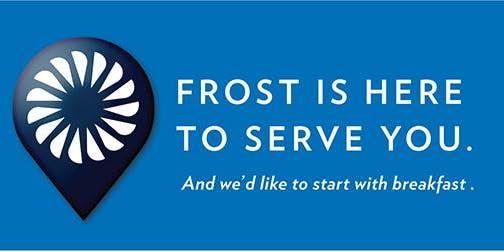 Frost Bank Barista & Breakfast