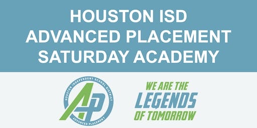 HISD AP Saturday Countdown Academy #1 (Nov. 16)