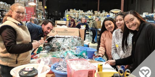 Volunteer with Project Helping to Prepare and Pack Medical Supplies for Villages All Over the World (Project C.U.R.E.)