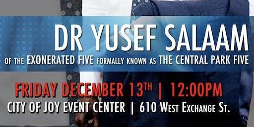 Dreams Academy Presents Dr. Yusef Salaam