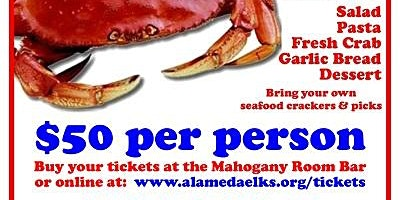 Alameda Elks 2020 Crab Feed