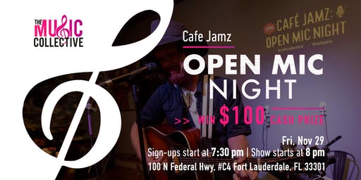 Cafe Jamz: Open Mic Night