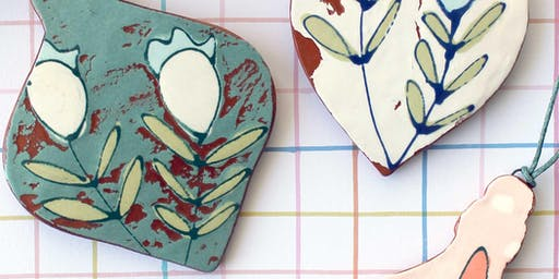 Ceramic Ornaments with Catie Miller Ceramics