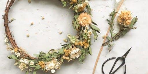 Dried Wreath Workshop