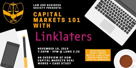 City Series: Capital Markets 101 with Linklaters tickets