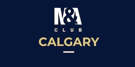 M&A Club Calgary : Meeting November 28th, 2019 tickets