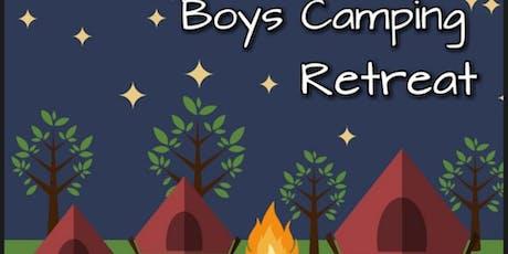 Boys Camping Retreat tickets