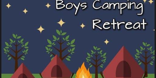 Boys Camping Retreat
