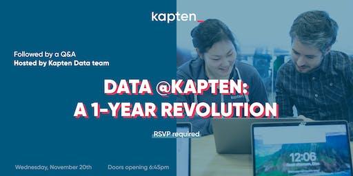 Data @Kapten: A 1-Year Revolution