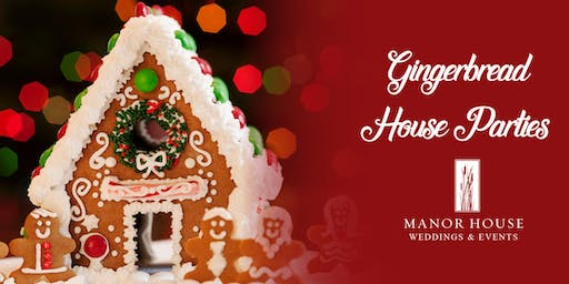 Gingerbread House Parties - Pleasant Beach Village