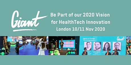 The GIANT Health Event 2020 (For Exhibitors) tickets
