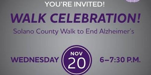 Solano County Walk Celebration Party!