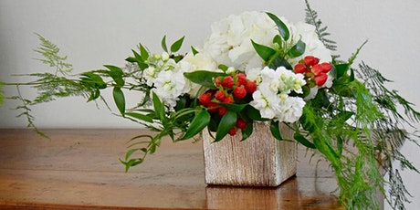 Bubbles + Blooms Holiday Centerpiece Workshop (Perkins/Highland) tickets