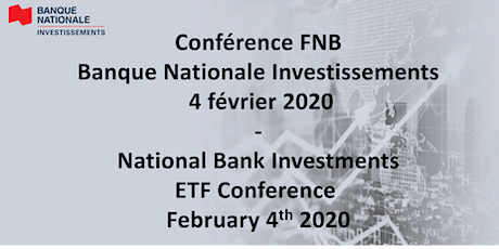 Conférence FNB Banque Nationale Investissements 04/02/2020 tickets