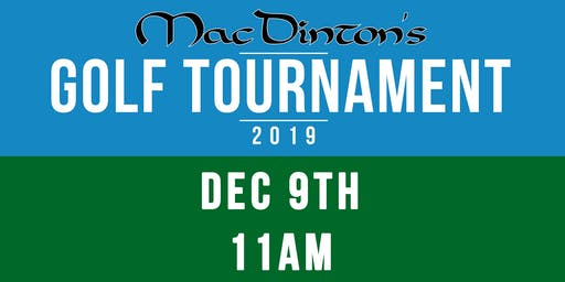 MacDinton's  Annual Golf Tournament 2019