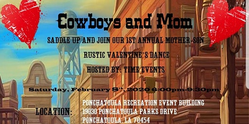 Cowboys and Mom Dance (Postponed April 4,2020)