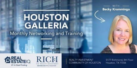 Houston - Galleria Monthly Deal Finding Training tickets