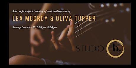 Lea McCroy & Oliva Tupper tickets