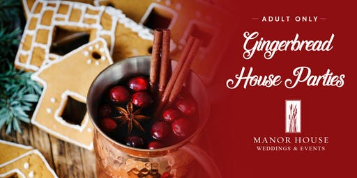 Gingerbread House Parties - Adults Only - Pleasant Beach Village