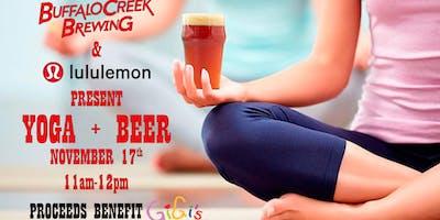 Beer & Yoga For GiGi's Play House