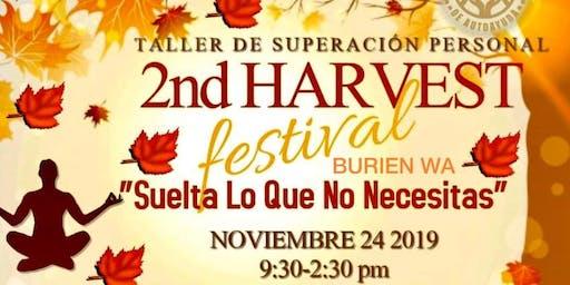"""2nd Harvest Fest """"Taller de Yoga , Meditación y Conferencias"""""""