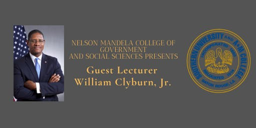 Guest Lecturer, The Honorable William Clyburn, Jr.