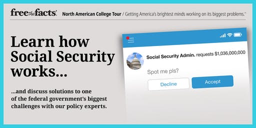 Free the Facts @ Washington University: Learn About Social Security