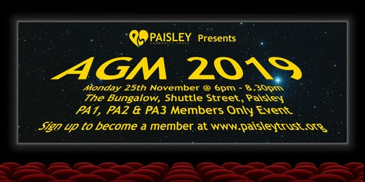 Paisley Community Trust - AGM