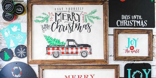 Chalk Couture Workshop- Farmhouse Christmas