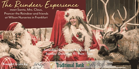 The Reindeer Experience @ Wilson Nurseries tickets