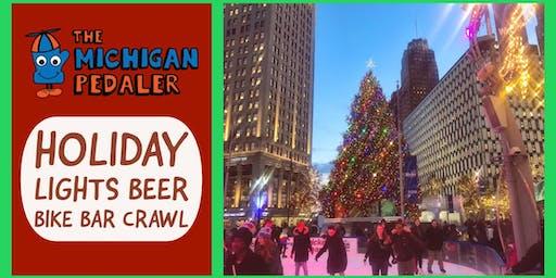 Holiday Lights Beer Bike Bar Crawl