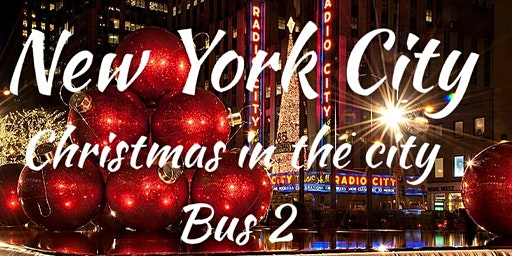 Nyc on your own with AJ bus 2