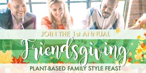 Plant-Based Thanksgiving: Friendsgiving Feast at Viridescent Kitchen