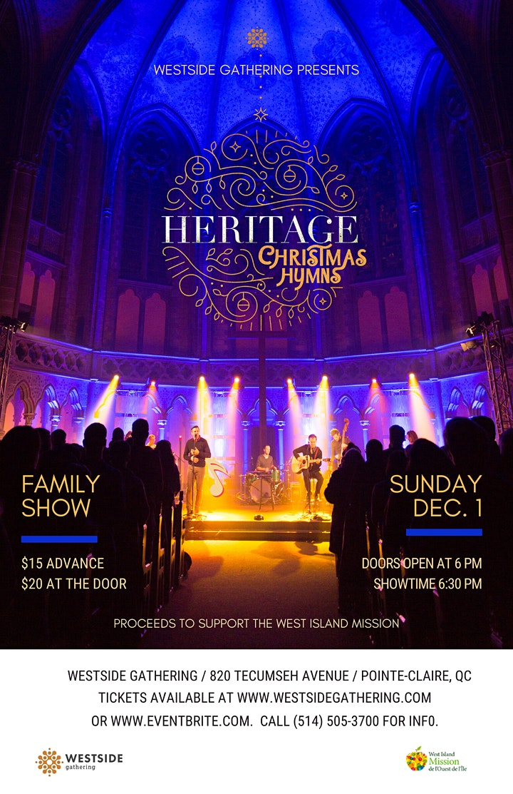CHRISTMAS CONCERT with HERITAGE image