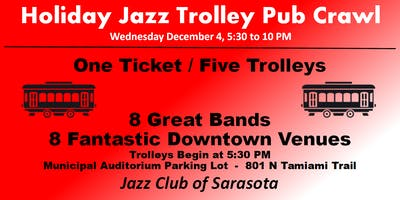 Holiday Jazz Trolley Pub Crawl