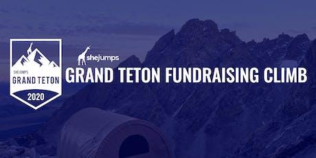 SheJumps Grand Teton Fundraising Climb 2020 tickets