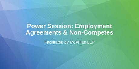 Employment Agreements & Non-Competes tickets