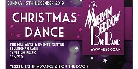 Christmas Dance featuring The Melvin Beddow Big Band tickets