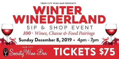 Ybor City Wine Bar: 2019 Winter WINEderland - Sip & Shop Event tickets