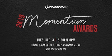 DowntownDC Momentum Awards 2K19 tickets