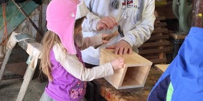 February Vacation Family Woodworking Project