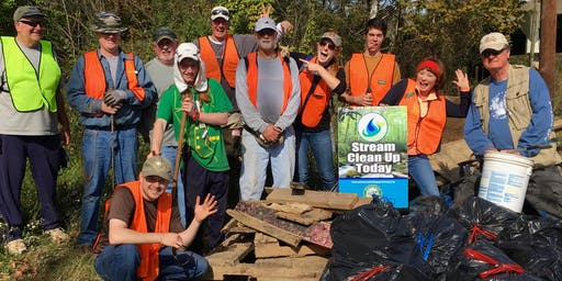Mardella Run Cleanup with Greater Patapsco Community Association
