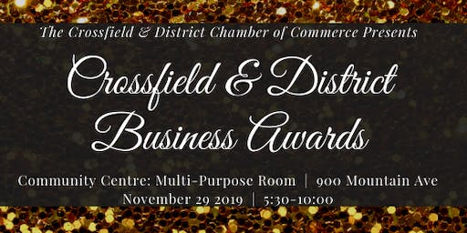 2019 Crossfield & District Business Awards