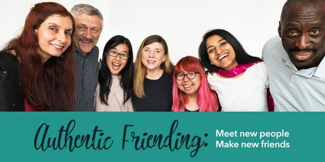 Authentic Friending: Meet New People & Make New Friends (Philly) tickets