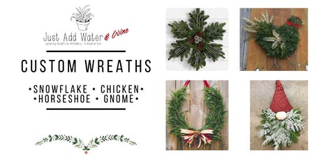 Custom Shaped Wreaths tickets