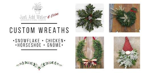 Custom Shaped Wreaths