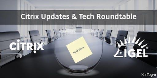 Birmingham, AL: Citrix Updates & Tech Roundtable (11/20/2019)