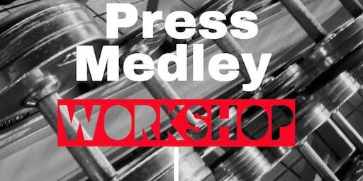 The Big Tex Winter Rumble 3.0 Press Medley Event Workshop
