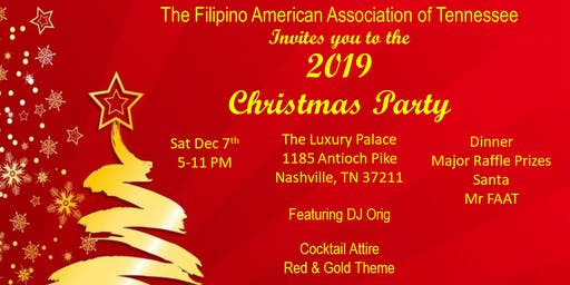 FAAT Christmas Party 2019